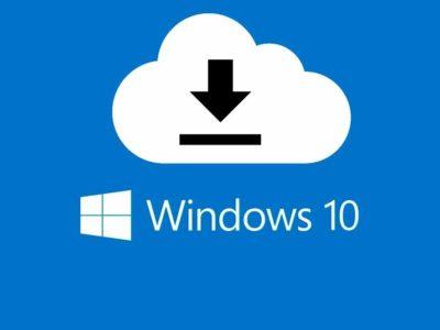 instalador windows 10 en la nube