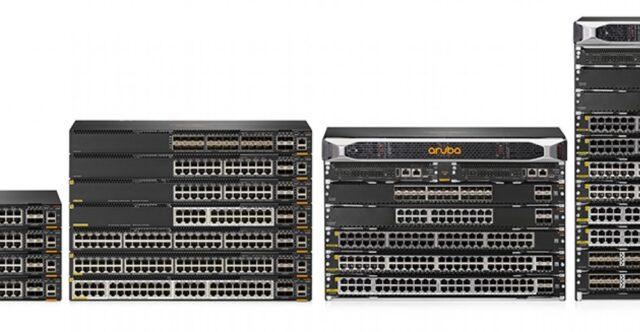 Aruba networking switches